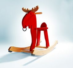 Gifts for Kids - The EKORRE rocking moose puts a Swedish twist on the classic children's rocking horse.