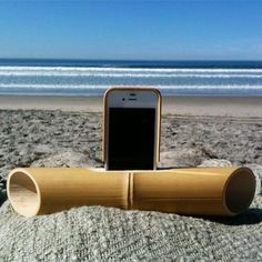 Eco-Friendly Gadgets Made From Bamboo - Speaker System
