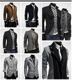 Jackets and Vests and Ties... Oh my!