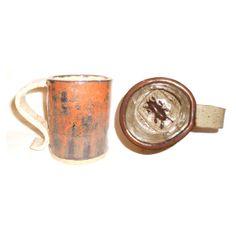 Cockroach Cup  Handbuilt ceramic coffee / tea by Aaron Nosheny aberrantceramics, $20.00