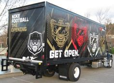 Nike Boxtruck wrap,  fleet graphics, 12 point signworks