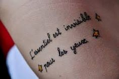 little prince quote tattoo - Google Search