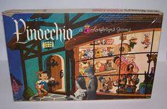 Vintage Walt Disney Pinocchio Colorforms Game 1962 NIB Unused  #Colorforms