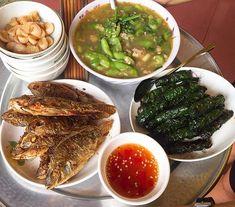 Vietnamese Recipes, Vietnamese Food, Daily Meals, Korean Food, Food Design, Palak Paneer, Banquet, I Foods, Lunch Box