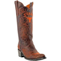 Texas Longhorns Ladies Gameday Cowboy Boots