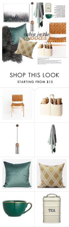 """cabin in the woods"" by ghomecollection ❤ liked on Polyvore featuring interior, interiors, interior design, home, home decor, interior decorating and Verso Design"