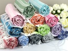 Turkish Peshtemal Towel Bridesmaid Gift Fouta Towel