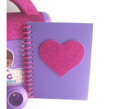 Doc McStuffins Handmade Big Book of Boo by JustaLittleFavorShop