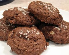 Salty Chocolate Chocolate Chip Oat Cookies For Peanut Butter | The Spiced Life