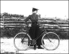 Bicycle as liberator of womankind