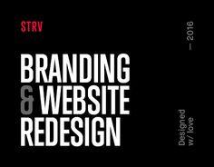 "查看此 @Behance 项目:""STRV Branding and Website""https://www.behance.net/gallery/45756215/STRV-Branding-and-Website"
