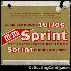 Mars-MM 's Sprint chocolate crisp