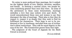 Justice Kennedy's beautiful closing paragraph on marriage will bring a tear to your eye