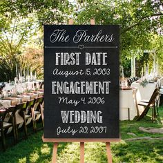 Our Love Story Chalkboard Sign Engagement Party Signs, Wedding Engagement, Our Wedding, Wedding Bells, Fall Wedding, Wedding Ceremony, Wedding Stuff, Dream Wedding, Chalkboard Wedding