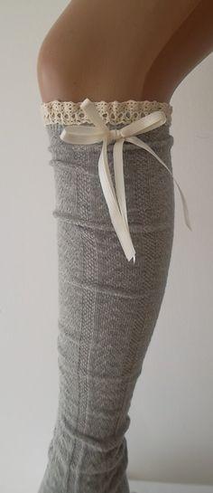 Cute high knie socks