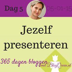 Jezelf presenteren op je blog