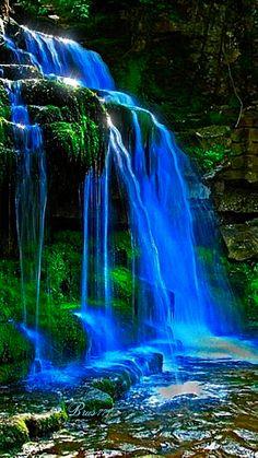 Синий водопад - Аним