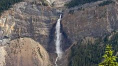 Takakkaw Falls in Yoho National