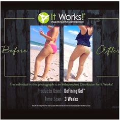 Defining Gel is an intensive skin care gel that deeply hydrates while firming areas such as the abdomen, back, legs, and upper arms. When used regularly, Defining Gel minimizes the appearance of cellulite and varicose veins.Call or text 520-840-8770