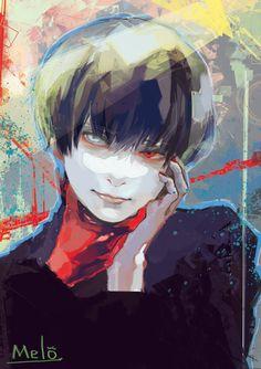 Tokyo ghoul by himesama i. Tokyo Ghoul Fan Art, Ken Kaneki Tokyo Ghoul, Tokyo Ghoul Manga, Manga Anime, Manga Art, Anime Art, Arte Cyberpunk, Fanart, Manga Covers