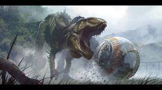 Jurassic World Concept Art Found on ILM Website | Jurassic Park ...