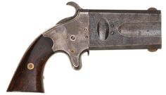 Scarce, Very Fine American Arms Co. Swivel Breech Double Barrel .41 Caliber DerringerLoading that magazine is a pain! Get your Magazine speedloader today! http://www.amazon.com/shops/raeind
