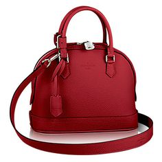 33bb6ca74601 Louis Vuitton - Alma PM bag in Cherry colour.