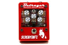The Betrayer Transparent Distortion Pedal