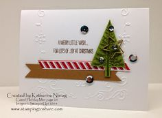 Stamping to Share: Holiday Mini Swap Cards from Stamping to Share Part One