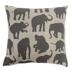 Heal's Limited Edition Elephant Cushion By Jill   Cushions   Soft Furnishings   Home Furnishings   Heal's