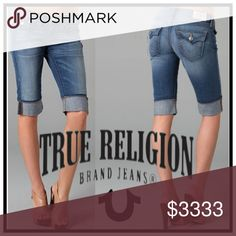 True Religion Cropped/Capri True Religion Bermuda Style Crop/Capri         *Product color may vary in person from picture's. True Religion Jeans