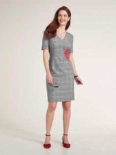 9732969ceeb heine TIMELESS Etuikleid mit Shape-Unterkleid online bei