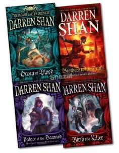The Saga of Larten Crepsley (Birth of a Killer / Ocean of Blood / Palace of the Damned / Brother to the Death)