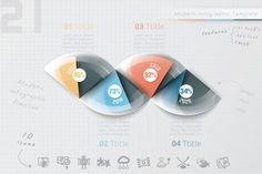 Infographic Timeline Template (21) by Infographic Paradise on Creative Market