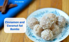 These low carb, paleo Coconut and Cinnamon Keto Fat Bombs are delicious! They are perfect for a ketogenic diet! You can whip up this easy recipe in no time.