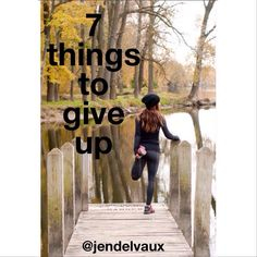 Happy Sunday! Health and fitness is not just physical. The mental aspect is just as important. Here is my challenge for YOU! 7 things to give up this week - one for each day. - doubting yourself - negative thinking - fear of failure - criticizing yourself - negative self talk - procrastination - fear of success