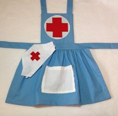 Hey, I found this really awesome Etsy listing at https://www.etsy.com/listing/181432333/girls-nurse-costume-child-nurse-dress-up