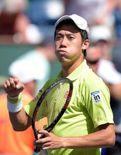 Kei Nishikori Photos - BNP Paribas Open - Day 6 - Zimbio