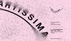 #Torino, dal 6 all'8 novembre la XXII edizione di #Artissima2015 #Turin #arte #art