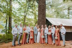"""Ben and Bree's #Intimate #Wedding in the #Woods by Katie Graham Photography. // Ben and Bree were married in the woods for their intimate summer wedding. A #lakeside ceremony and #candlelit #reception set the scene while they celebrated with their closest family and friends. Their first dance song was """"Forever"""" by Mumford and Sons, which is from a concert that Ben surprised Bree with tickets for when they first started dating. Autumn Wedding, Summer Wedding, Groomsmen Fashion, Wedding Day Timeline, First Dance Songs, Wedding Inspiration, Wedding Ideas, Mumford, Wedding In The Woods"""