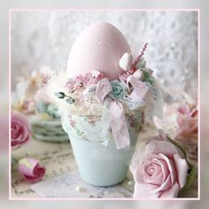 Ideas For Craft Ideas Easter Flower Pots Easter Egg Crafts, Easter Projects, Easter Eggs, Easter Flowers, Easter Parade, Easter Holidays, Egg Decorating, Vintage Easter, Easter Wreaths