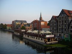 Bydgoszcz, Poland.  Love, Love, Love this city!!