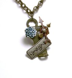 Brand New Key Steampunk Necklace by BranchingOutFurther on Etsy, $24.00