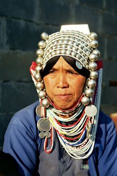 Thailande, triangle d'or notamment pour rencontrer les tribus dont les akkhas comme sur la photo