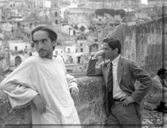 Pier Paolo Pasolini  - On the set - El evangelio según San Mateo