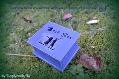 music box wooden music box custom made music by Simplycoolgifts, $64.00