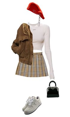 """""""Untitled #438"""" by luvtayy4ever ❤ liked on Polyvore featuring NIKE, Christian Dior and vintage"""