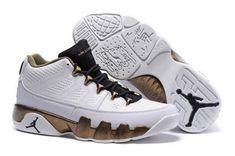 "1b6ca119dd7730 Find Air Jordan 9 Retro Low ""Copper Statue"" White Black-Militia Green Top  Deals online or in Footlocker. Shop Top Brands and the latest styles Air  Jordan 9 ..."