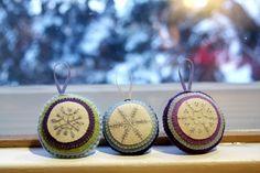 Felt Ornaments   Flickr - Photo Sharing!