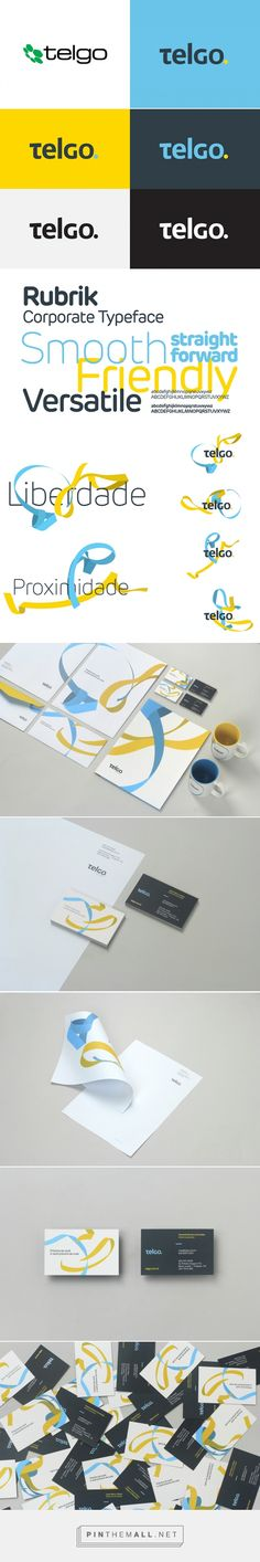 Brand New: New Logo and Identity for Telgo by BR/BAUEN... - a grouped images picture - Pin Them All